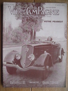 Revue LA VIE A LA CAMPAGNE Avril 1935 - Le Chateau De Beaumarchais (Indre-et-Loire) - Jardins De Nice... - Libros, Revistas, Cómics