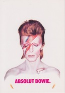"""CARTOLINA - SERIE ABSOLUT VODKA COLLECTION N° 187 - PROMOCARD 3248  - """"ABSOLUT BOWIE"""" - Advertising"""