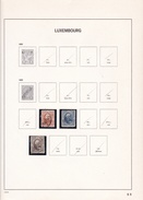 Luxembourg - Collection Vendue Page Par Page - Timbres Neufs Oblitérés - Neufs */** - B/TB - Officials