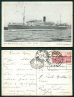 BARCOS SHIP BATEAU PAQUEBOT STEAMER [BARCOS #01386] - NV ROTTERDAMSCHE LLOYD DMS INDRAPOERA - Steamers