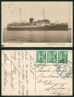 BARCOS SHIP BATEAU PAQUEBOT STEAMER [BARCOS #01395] - DMS BALOERAN ROTTERDAMSCHE - Steamers