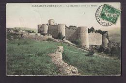 CPA 34 - CLERMONT-L'HERAULT - Le Château ( Côté Du Midi ) - TB PLAN EDIFICE - Clermont L'Hérault