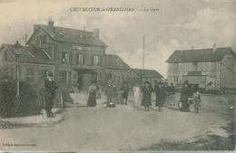 Crevecoeur  Le Grand - La Gare (animée) - Crevecoeur Le Grand