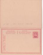 EUPEN - N°6 - 10c+10c Rouge Sur Jaune (Haarlem) - FR/NL - Avec Réponse Payée - Eupen & Malmedy