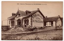 Maizières : Station Thermale  (Editeur Rimet, Arnay Le Duc, N°126 - Louys Et Bauer, Dijon) - Other Municipalities