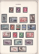 Algérie - Collection Vendue Page Par Page - Timbres Neufs Oblitérés - Neufs */** - B/TB - Algerije (1924-1962)
