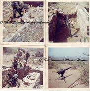 SENEGAL - MORTIER ET CANON SANS RECUL ANTICHAR 7 EME RPIMA RPC PARACHUTISTES - ANNEES 1960 - LOT DE 4 PHOTOS - MILITAIRE - Guerre, Militaire