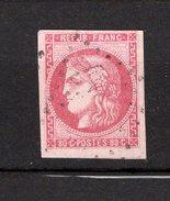 N°43a Rose Pâle Signé BRUN Cote 320€