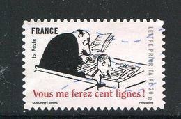 FRANCE- Adhésif Y&T N°362- Oblitéré - France