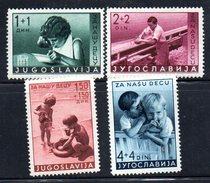 XP2874 - YUGOSLAVIA 1938 , Unificato N.  326/329  *giochi Balcanici - Nuovi