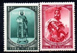 XP2875 - YUGOSLAVIA 1939 , Unificato N.  343/344  *  Polje - Nuovi