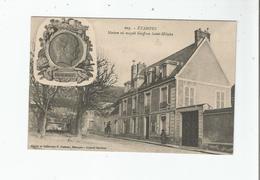 ETAMPES 605 MAISON OU NAQUIT GEOFFROY SAINT HILAIRE 1916 - Etampes