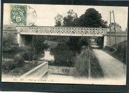 CPA - EU - Pont Sur La Bresle - Eu