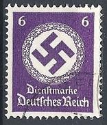 Germania - 1942 Croce Uncinata 6p Violetto Senza F. # Michel 169 - Scott O95 - Unificato Tx130 - Usato - Officials