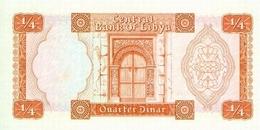 LIBYA P. 33b 1/4 D 1972 AUNC - Libya