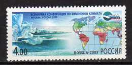 Russia 2003 The World Conference On Climate Fluctuation.MNH - 1992-.... Federation