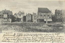 KNOKKE - KNOCKE : Les Villas De L'Avenue Et L'Hotel Du Lion D'Or - Cachet De La Poste 1904 - Knokke