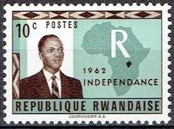 RWANDA # FROM 1962  STAMPWORLD  1** - Rwanda