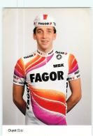 Eric GUYOT . Cyclisme. 2 Scans. Fagor - Radsport