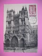 Carte-Maximum    N° 665 Cathédrale Amiens 1944 - 1940-49