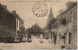 56 MONTERBLANC  Le Bourg (très Animée) - Francia