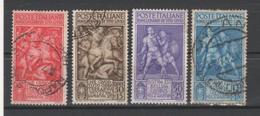 REGNO 1941 Bimillenario Della Nascita Di Tito Livio Mi. 629/32 - Sass. 458/61  Serie Cpl. 4v. Usati - Oblitérés