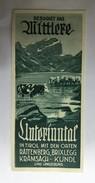 TOURISM BROCHURES   PROSPECT   AUSTRIA  TIROL 1930 -40's - Tourism Brochures