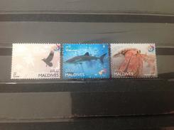 Maldiven / Maldives - Postfris / MNH - Complete Set Fauna 2016 - Maldiven (1965-...)