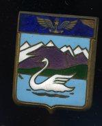 Ancien Insigne émaillé Escadrille 3S D' Hyères -- Fabrication Drago  Ins4 - Airforce