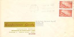 CARTA COMERCIAL  GIJON - 1961-70 Briefe U. Dokumente