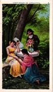 5 Trade Cards Chromo  SPAIN ESPANA PUB  Fabriques De TOURRONS DAUNER La Junquera C1899 COSTUMBRES De ANDALUCIA - Espagne
