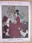 VINTAGE ORIGINAL MAGAZINE VOGUE OCTOBRE 1928 - ART DECO - 254 Pages - Illustrateurs P. BRISSAUD, FOUJITA, Henri MERCIER