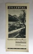 TOURISM BROCHURES   PROSPECT   AUSTRIA  TIROL 1930 -40's - Reiseprospekte