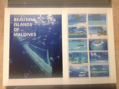 Maldiven / Maldives - Postfris / MNH - Sheet Mooie Eilanden Maldiven 2016 - Maldiven (1965-...)
