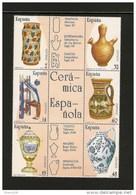 1987-ED.2891/96 En BLOQUE- ARTESANIA ESPAÑOLA. CERAMICA-NUEVO - 1981-90 Unused Stamps