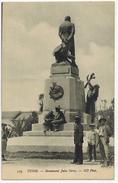 "AFRIQUE DU NORD TUNISIE TUNIS Militaria : "" Monument Jules Ferry "" Plan Avec Soldat Militaire Et Civils ND Photo N° 319 - Tunisia"