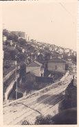 CARD PHOTO SAN REMO VECCHIA SALENDO COLLA FILOVIA SCRITTO MANUALMENTE SUL RETRO ANNO 1938(IMPERIA)FP-VDB-2-  0882- 27008 - San Remo