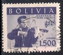 (A) Bolivia 1960 - Music - Jaime Laredo Commemoration - Bolivia