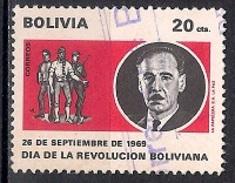 (A) Bolivia 1969 - Day Of The Bolivarian Revolution - Bolivia