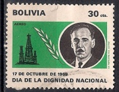(A) Bolivia 1969 - National Dignity Day - Bolivia