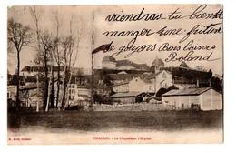 16 - CHALAIS . LA CHAPELLE ET L'HÔPITAL - Réf. N°188 - - France
