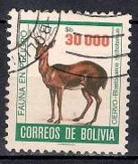 (A) Bolivia 1985 - Endangered Animals - Bolivia