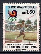 (A) Bolivia 1988 - Olympic Games, Seoul - Bolivia