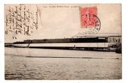 """BATEAU . LE """" JULES MICHELET """" A L'EAU . MARINE DE GUERRE - Réf. N°192 - - Warships"""