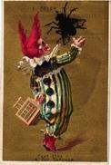 4 Trade Cards Chromo  SPAIN ESPANA PUB   Galan Pintor San Sebastian Pildoras Dr Ayer Gross Malaga C 1900 - Espagne