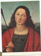 T3449 Raffaello Sanzio - San Sebastiano - Bergamo - Accademia Carrara Sala VII - Dipinto Paint Peinture - Paintings