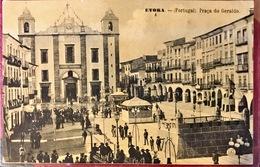 PORTUGAL. EVORA. PRACA DO GERALDO. Nº 5. DORSO EN BLANCO, SIN EDITOR - Evora