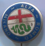 ALFA ROMEO - Car, Auto, Automotive, Vintage Pin, Badge, Abzeichen - Alfa Romeo