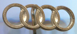 AUDI NSU - Car, Auto, Automotive, Vintage Pin, Badge, Abzeichen - Audi