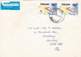 Tanzania 1991 Arusha Telecommunication Day ITU Cover - Tanzania (1964-...)